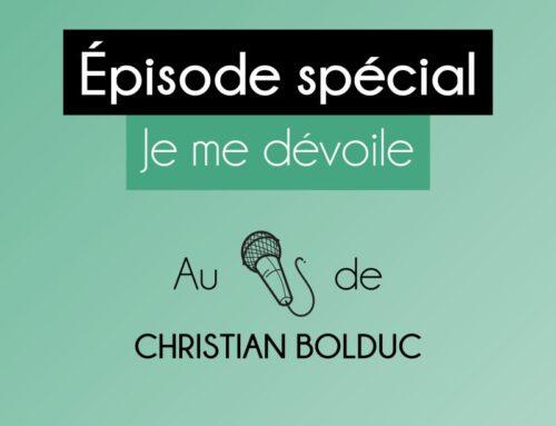 Notre lauréate de la Bourse Jean Robert Nolet, Charlène Petit de FILantropio, répond aux questions de Christian Bolduc