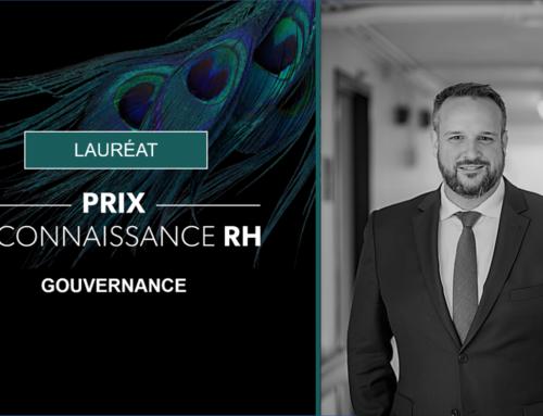 Daniel H. Lanteigne, CFRE, CRHA, lauréat du Prix Reconnaissance RH – Gouvernance